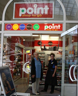 - Point shop to go -